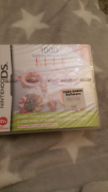 Brand new ds Nintendo game 1000 recipes