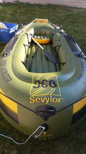 Seylor Fish Hunter HF360 Inflatable Boat