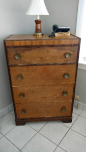 Antique solidwood dresser