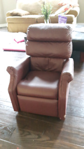 Kids Leather Reclining Chair