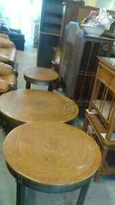 Rustic coffee & end tables London Ontario image 1