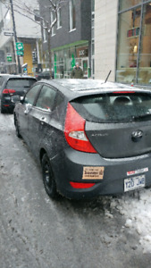 Hyundai accent 2012 hatchback