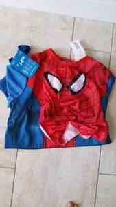 Brand new Spider-Man costume.