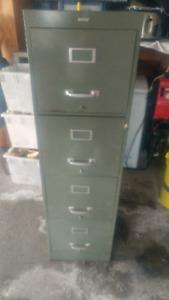 Vintage filing cabinet safe combo