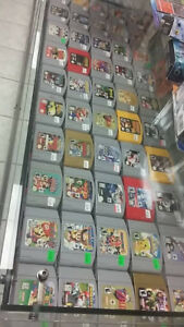 N64 games/consoles for sale Dozens available! (Chad's Game Room)