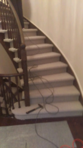 Carpet sales and Installation. 647-994-4446.