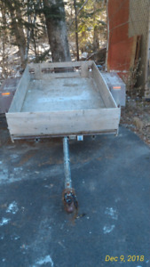 Utility trailer sold sold