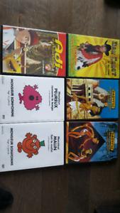 20 dvds pour enfants