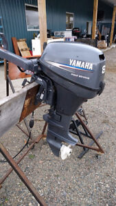 YAMAHA 2004 8 4 STROKE WITH TANK AND HOSE