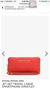Michael kors brand new with tag wristlet/wallet