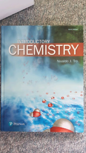 Intro chemistry book for sale