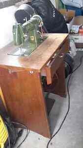 Gritzner Treadle Sewing Machine from 50's