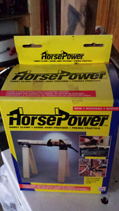 Horsepower saw horse clamps