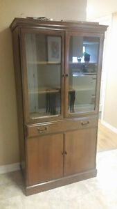 Antique style china cabinet