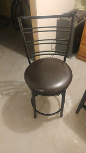 Bar height chairs. $10 per chair or $25 for all 3.