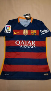 BARCELONA HOME JERSEY CLEAROUT!! Messi, Neymar Jr, Suarez
