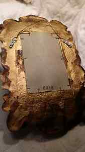 Vintage  Antique Bronze gold mirror Cambridge Kitchener Area image 3