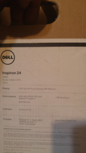 New dell inspiron 24 5000 touch all in one desk top