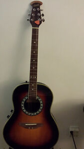 Beautiful acoustic Electric guitar-New!