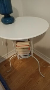 Ikea LINDVED Side table, white in perfect condition