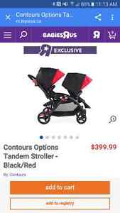 Double stroller great condition