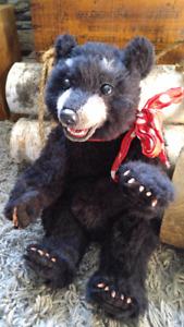 Artist Bear from True Bears - teeth - not Steiff - Price Reduced