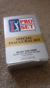 PGA tour pro set special inaugural set for sale