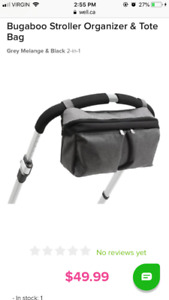 Bugaboo stroller organizer and tote bag