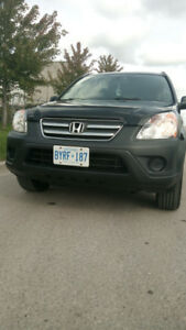 2006 HONDA CRV  AWD WITH SAFETY AND E TEST(MINT CONDITION)