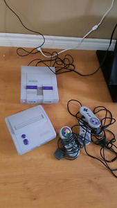 2 Super Nes systems