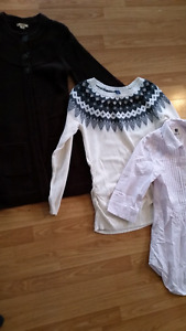 Maternity tops size XS & S