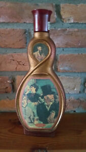 "Vintage MANET ""Au Cafe"" JIM BEAM Decanter"
