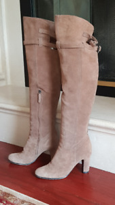 Sam Edelman Suede Over-The-Knee Boots 8M
