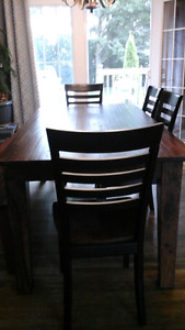 Harvest table and bench reduced price