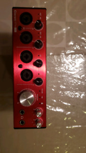 Audio Interface focusrite