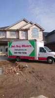 MOVING SPECIAL DEALS WITH JIM`S BOY MOVERS ONLY $60/HR
