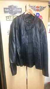 56 T Leather coat new with liner  Windsor Region Ontario image 3