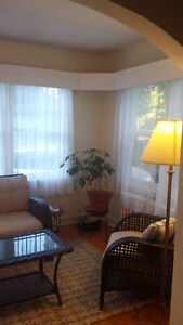 Spacious large duplex in a desired area, with a double car garag