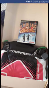 Brand new dance mat and game for psp2