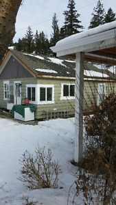Cozy 1 bedroom house in the country with own yard.