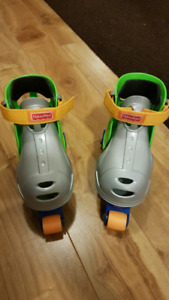 Boys Rollerskates and Pads