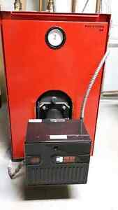 BIASI B - 10 Oil Fired Hot Water Boiler - Excellent Condition
