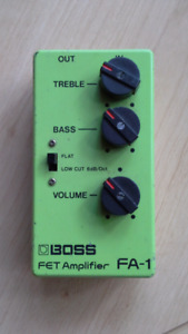 Boss FA-1 FET Amplifier Guitar Pedal