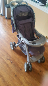 Safety 1st stroller with carseat adapter bar 40$
