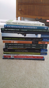 Office Admin Textbooks from Conestoga College 2014-2015