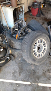 1997 GMC Jimmy Tires and Rims