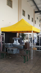 POPUP TENT - 10X10 with Heavy Duty Frame