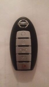 Cle intelligent 5 boutons Nissan (5 button Smart Key)