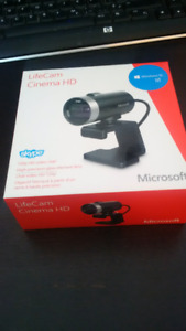 life cam Cinema HD Microsoft neuf - compatible Windows 10