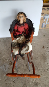 Antique Doll in Pram